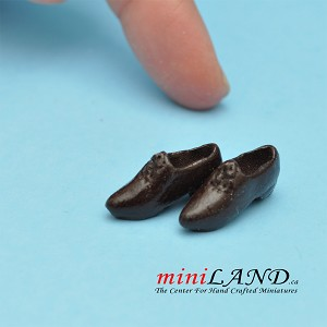 Shoes for dollhouse miniature display #05