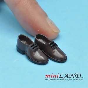 Man Shoes for dollhouse miniature display #24