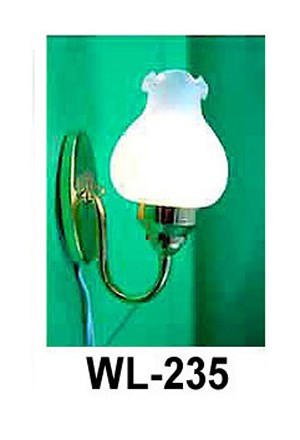 Clearance SALE tulip Wall Sconce lamp 12v dollhouse miniature 1:12 light