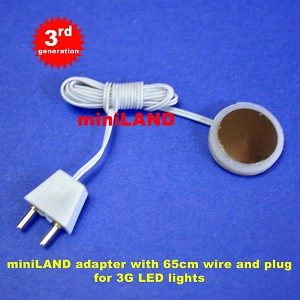 3G  LED adapter 60cm wire with plug (Option)