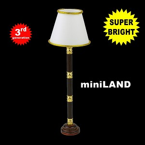 Stained base floor lamp  LED Super bright with On/off switch